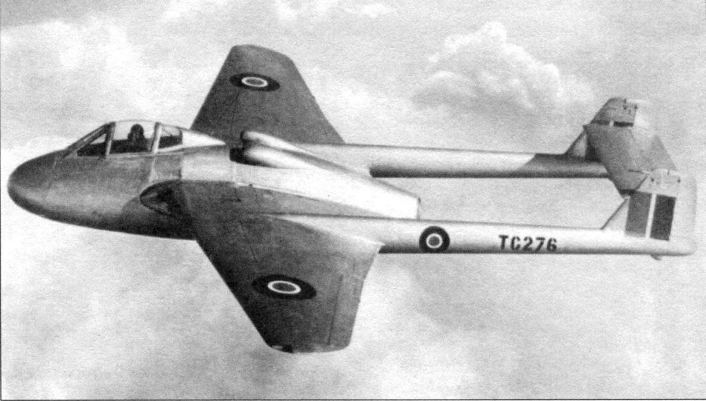 Havilland Vampire MKII