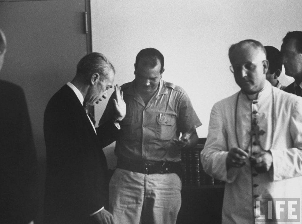 John Bartlow Martin, Monseigneur Emanuele Clarizio y Caamaño Deñó