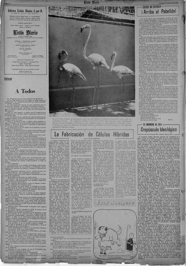 A Todos – Editorial Listin Diario
