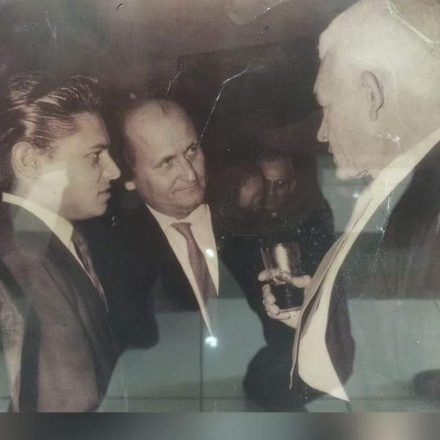 Oscar Santana y Juan Bosch